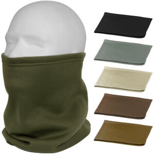 Cold Weather Poly Tactical Neck Gaiter Fleece Lined Military ECWCS Cover