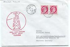 1963 First Road Crossing Arctic Circle Yukon Old Crow Eagle Plans Polar Cover