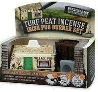 Turf Peat Incense Irish Pub Burner Set