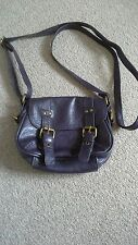 Small Purple saddle handbag