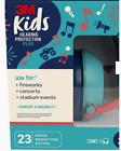 PKIDSP-TEAL 3M Plus Plastic Kids Hearing Protection Earmuffs