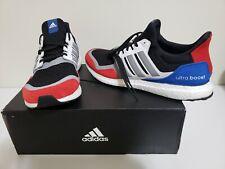 Adidas UltraBoost EF1360 S&L Black/Grey/Red Running Shoes Mens Sz 13 $180 NIB