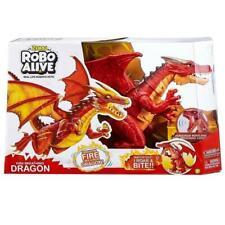 Zuru Robo Alive Fire Breathing Robotic Red Dragon
