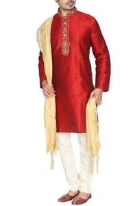 MKP9010 Men's Kurta Pyjama Churidar Salwar Kameez Indian Salwar Bollywood Outfit