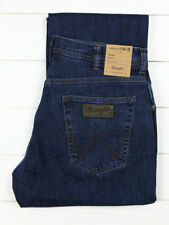 Indigo, Dark wash Mid Rise Regular Size Loose Jeans for Men