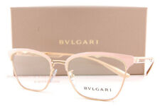 Brand New BVLGARI Eyeglass Frames BV 2218 2057 Pink/Gold For Women Size 54mm