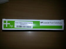 HP 36596DB Barcodes & More Font DIMM for Laserjet Printers - NEW!