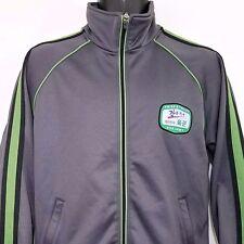 ROK Army Track Jacket Republic Of Korea Full Zip Gray Green Mens Size Medium