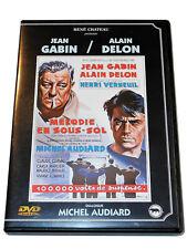 Jean Gabin Alain Delon MELODIE EN SOUS-SOL Henri Verneuil Michel Audiard DVD