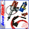 Ford Pinto Electronic Distributor, Red Leads, Blue Sports Ballast ignition coil