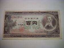 Japan 100 Nippon Ginko Banknote paper money