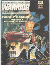 WARRIOR MAGAZINE (1982 Series) #23 Very Fine minus      V for Vendetta Big Ben