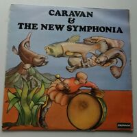 Caravan & the New Symphonia - Self Titled Vinyl Album LP UK 1st Prog Canterbury