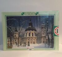 MONASTERY OF ETTAL GERMANY Jigsaw Puzzle EDUCA 1500 Pieces ~ New & Sealed
