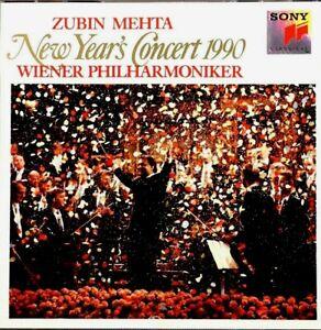 New Year's Concert 1990 - Zubin Mehta - CD, VG