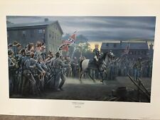Twilight In Gettysburg, Mort Kunstler Limited Edition Civil War Print #25