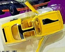 1983 ROAD CHAMPS 1980 PONTIAC FIREBIRD TURBO TRANS AM YELLOW 1/64 Scale Diecast