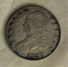 Early Date 1827 Bust Half Dollar Found In St Marys City Maryland Free USA Ship