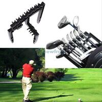 Durable 9 Golf Iron Club Shafts Protection Set Holder Organizer accessories New