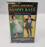 Sammy Kaye and his Orchestra Cassette Tape Swing and Sway 1986 FREE SHIPPING