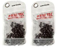 "14"" WAR TEC Chainsaw Chain Fits RYOBI RCS1835 Chainsaw Pack Of 2"