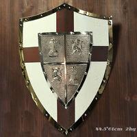 Archaize Roman Warrior Shield Medieval Cavalryman Shield Hanging Ornaments A-3