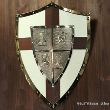 Archaize Roman Warrior Shield Medieval Cavalryman Shield Hanging Ornaments A-3