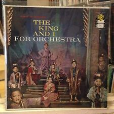 [BROADWAY/MUSICAL]~EXC LP~'The KING AND I' FOR ORCHESTRA~WARREN BARKER~WLP PROMO