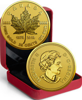 1979-2019 Gold Maple Leaf GML 40th Anniv. 25cents 0.5grams Pure Gold Proof Coin