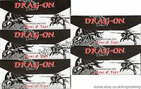 Drag-on Kingsize Rolling Papers With Tips x5 Booklets King Size Paper Dragon Set