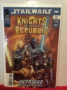 STAR WARS KNIGHTS OF THE OLD REPUBLIC / REBELLION # 0 FIRST PRINT DARK HORSE