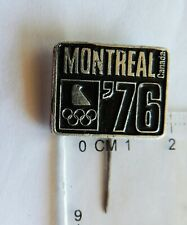 Montreal 1976 Olympic Game crest badge pin anstecknadel