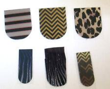 Jamberry Stripes & Animal Print Partials 6 Single Pieces Read Description