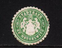 47118/ Siegelmarke - Stadtrath zu Meuselwitz