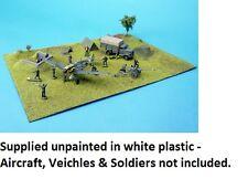 Kit Plástico Base amera Normandía campo de aviación. escala 1/72, 1/76 20 Mm-S220
