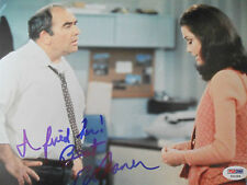 ED ASNER LEGEND ACTOR 8 x 10 inch SIGNED PHOTO PSADNA COA