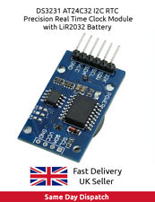 DS3231 RTC AT24C32 I2C Precision Real Time Clock & Memory Module Arduino UK FAST