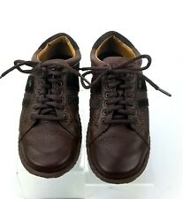 Born Brown  Leather and Suede Shoes Women's Size US 8  Lace Up Oxfords Casual