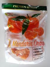 PARADISE GREEN PREMIUM QUALITY Dried Mandarin Orange 24 oz bag Snack GF