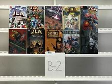 Jla Graphic Novels Dc 10 Lot Comic Book Comics Set Run Collection Box