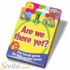 Are We There Yet? Travel Car Game for Family Kids Holidays Ages 6 Up