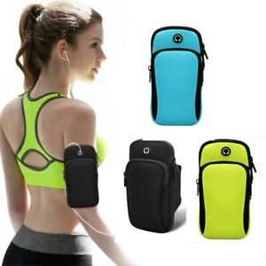Sports Armband Phone Case Arm Bags With Headset Hole Running Accessories