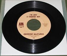 GEORGE McCURN I'm Just A Country Boy Orig US A&M 1963