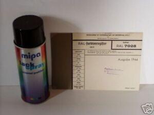 (17,25€/l) 1 x 400 ml Acryl-Lackspray RAL 7028 stumpfmatt FELDGRAU