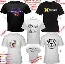 Of Monsters and Men & YELLOWCARD All size Adult S M L - 5XL Kids Baby Shirt