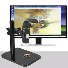 MICROSCOPIO USB DIGITALE Zoom 1000X PC NOTEBOOK FOTO VIDEO 8 LED Con STAFFA Q2P0
