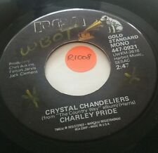 45rpm Record, CHARLEY PRIDE, Crystal Chandeliers, You'll Still Be The One, RCA