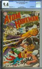 ATOM AND HAWKMAN #42 CGC 9.4 OW/WH PAGES
