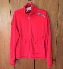 Men's Small Puma Ducati Zip Up Zipper Track Jacket Sweatshirt Rare