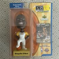 2001 Upper Deck Play Makers Shaquille O'Neal Bobble Head Sealed LA Lakers VTG